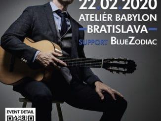 Kanadský fenomenálny gitarista Jesse Cook po prvý raz na slovensku