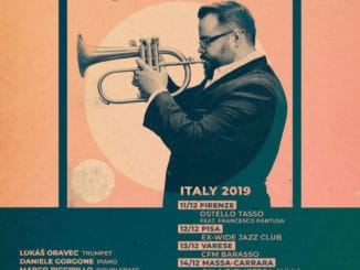Lukáš Oravec Quartet vyráža na turné do Talianska!