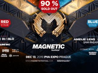 Don Diablo, Amelie Lens,CamelPhat a mnoho dalších již tento pátek na Magnetic Festivalu.