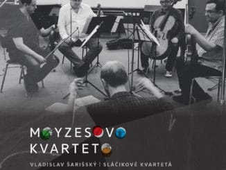 Moyzesovo kvarteto vydáva novinku shudbou Vladislava Šarišského.