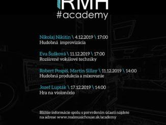Vydavateľstvo Real Music House pokračuje vprojekte workshopov RMH Academy.