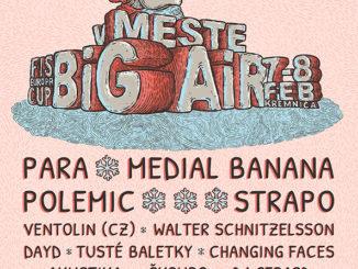 12. ročník Big Air v meste Kremnica - zimný festival už o mesiac.