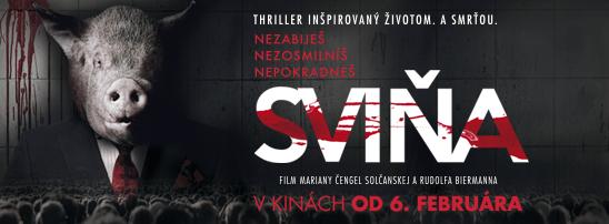 Drsný a silný - taký je trailer nového slovenského filmu Sviňa.