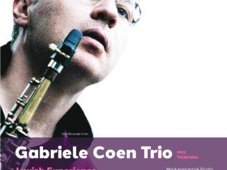 """Gabriele Coen Trio (Jazz) """"Jewish Experience"""" - Taliansko"""