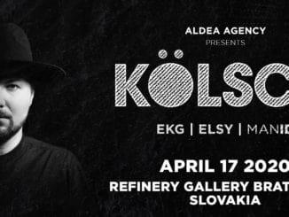 Výnimočná osobnosť tanečnej scény Kölsch vystúpi po prvý raz v Bratislave!