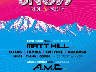 Dvojdňový festival Let It Snow 2020 v Nízkych Tatrách už tento víkend!