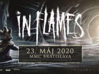 Metalová stálica In Flames rozpáli Bratislavu!