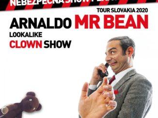 Mr.Bean lookalike clown show Slovensko / Nitra