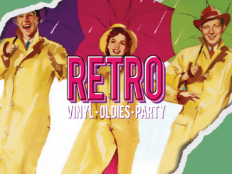 RETRO vinyl • oldies • party: 25. mája v KC Dunaj!