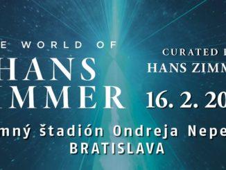 To najlepšie z filmovej hudby Hansa Zimmera už túto nedeľu v Bratislave!