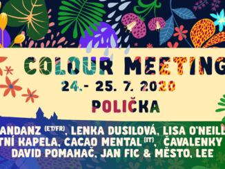 Festival Colour Meeting 2020 ohlašuje první jména.