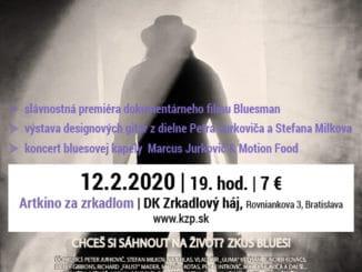 BLUESMAN -12. 02. 2020 / 19:00 / Artkino Za zrkadlom.