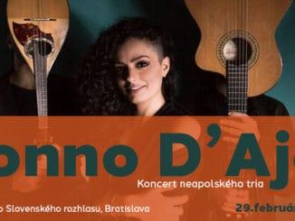 Koncert neapolského tria Suonno d'Ajere.