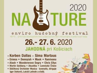 Jahodná pri Košiciach ožije začiatkom prázdnin enviro - hudobným festivalom NATURE.