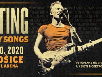 STING sa vracia na Slovensko! Publikom imédiami ospevovanú šou MY SONGS ponúkne vKošiciach.