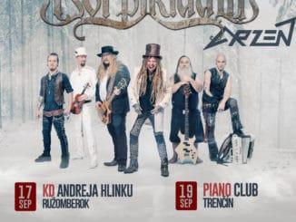 Korpiklaani presúvajú kvôli koronavírusu slovenskú časť turné na jeseň.
