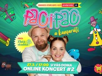 Paci Pac zabávajú deti prostredníctvom online koncertov.