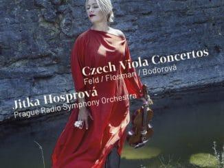 Jitka Hosprová vydáva so Symfonickým orchestrom Českého rozhlasu album.