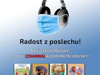 Na ústa rúška, do uší audioknihy!Supraphon ponúkne každý týždeň niekoľko audiokníh zdarma.