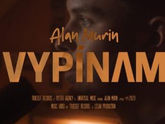 Alan Murin zverejnil klip kjeho najúspešnejšej skladbe Vypínam, ktorá má viac ako pol milióna prehratí!