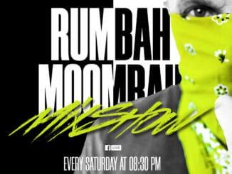 Nalaďte sa na živé vysielanie RUMBAH MOOMBAH MIXSHOW!