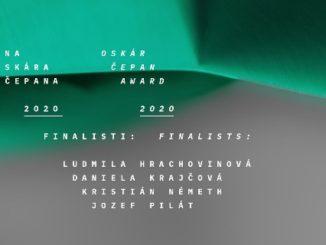 Medzinárodná porota Ceny Oskára Čepana vybrala štyroch finalistov,do úvahy brala dôslednosť, vôľu objavovať, humora tvorivé ambície autorov.