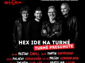 Fanúšikovia rozhodli: Týchto šesť kapiel sa predstaví na októbrovom klubovom turné skupiny HEX!