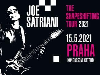Joe Satriani překládá své evropské turné na příští rok,v Praze vystoupí 15.května.