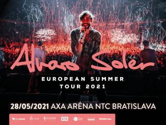 Alvaro Soler presúva turné, v Bratislave vystúpi o rok neskôr.
