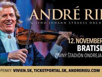 Koncert kráľa valčíkov André Rieu sa presúva na 12. november 2020.