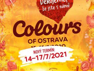 Festival Colours of Ostrava sa presúva na júl 2021, vstupenky zostávajú v platnosti.