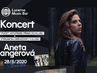 ANETA LANGEROVÁ VYSTOUPÍ VRÁMCI SÉRIE eKONCERTŮ VLUCERNA MUSIC BARU.