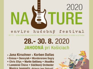 Enviro - hudobný festival NATURE sa kvôli koronavírusu presúva na koniec prázdnin, 28.-30.8.2020.