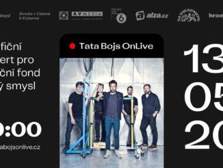 TATA / BOJSchystají interaktivní online koncert OnLive pro Nadační fond Šestý smysl.