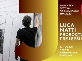 Taliansky výtvarník Luca Matti vytvoril Proroctvá pre lepší svet aposiela ich na Slovensko.