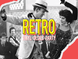 RETRO vinyl • oldies • party: 3. júla v KC Dunaj!