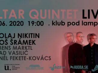 Slovenskí jazzmani Nikitin aŠrámek pripravujú premiéru novinky Altar Double Quintet.