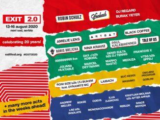 EXIT festival bude! Vystúpia na ňom Amelie Lens, Black Coffee, Nina Kraviz, Paul Kalkbrenner, DJ Regard, Robin Shulz amnohí ďalší.