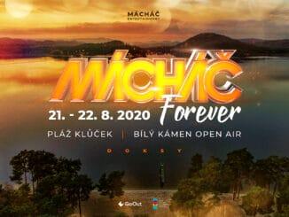 Festival Mácháč letos nahradí 4 open air party snázvem Mácháč Forever.