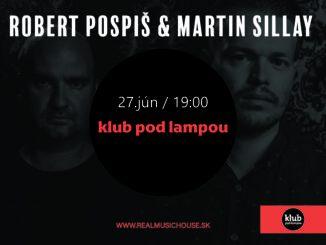Robert Pospiš & Martin Sillay zahrajú po koncertnej pauze v.klube pod lampou.