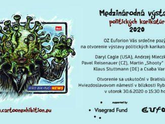Medzinárodná výstava politických karikatúr v Bratislave!