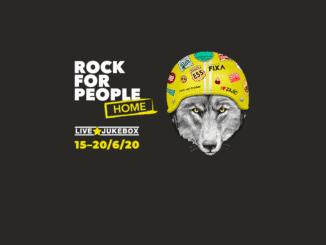 Rock for People Home míří do vašich měst i domovů.