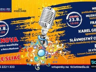 Muzikálový festival súčasťou aj tohtoročného leta.