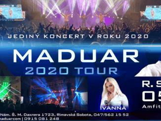MADUAR ukončí leto veľkolepou koncertnou party.