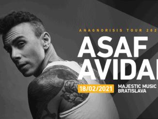 Asaf Avidan, autor megahitu One Day, sa po prvý raz predstaví v Bratislave.