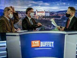 The Grand Buffet & Hafner šokujú novým videom kskladbe Bože, božee.