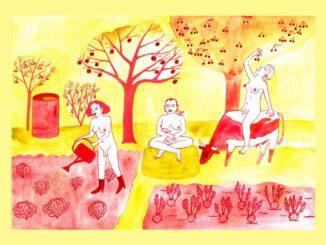 Výstava TOO HOT Evy Jaroňové ukazuje v Kostce utrhané končetiny a noční můry malé holčičky.