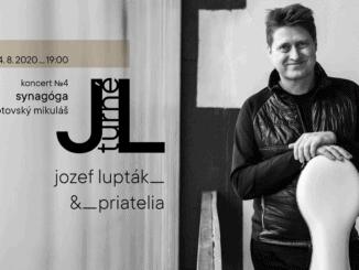 Jozef Lupták s projektom Chasidské piesne vystúpi premiérovo v Liptovskom Mikuláši. Koncert sa uskutoční v Synagóge dňa 4.8.2020 o 19:00.