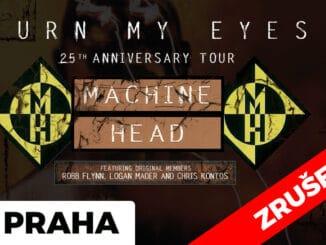 Pražský koncert Machine Head se z důvodu pokračující koronavirové pandemie ruší.