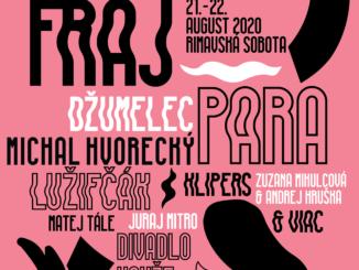 Festival FRAJ: 21 – 22. august 2020.